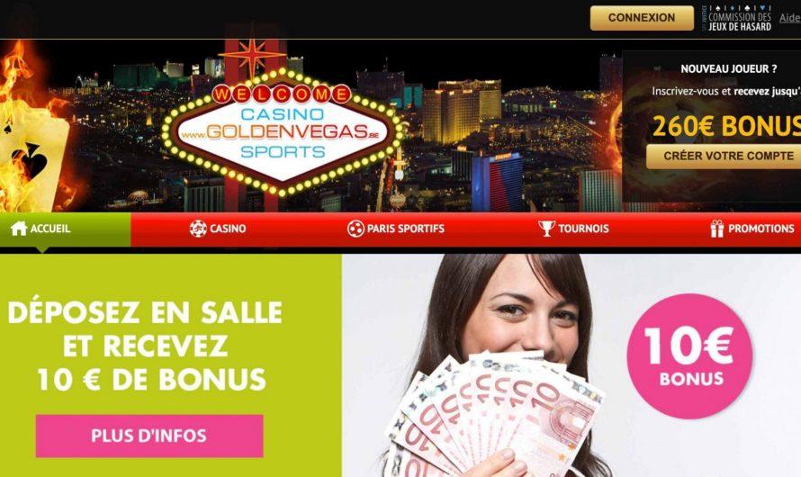 Ce qu'on doit savoir sur Golden Vegas Casino