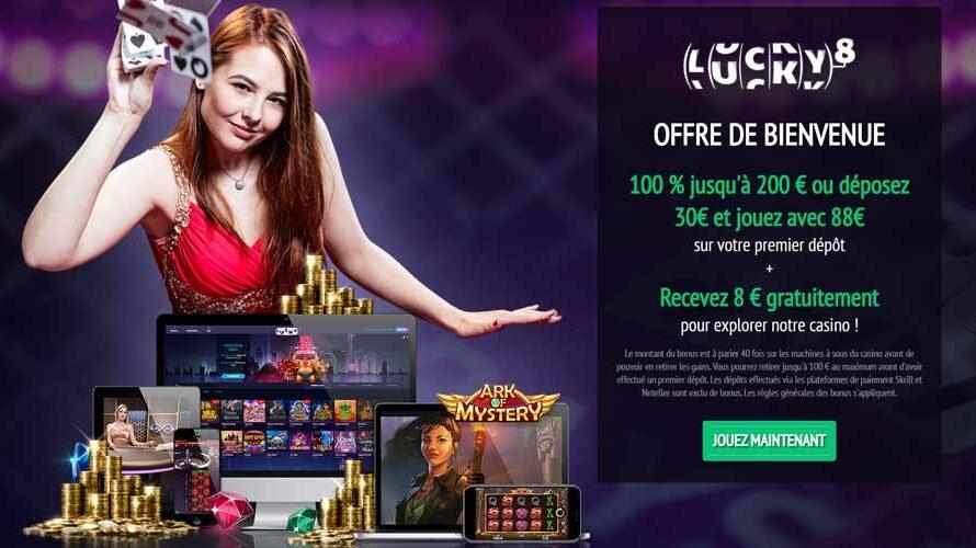 Est-il avantageux de jouer au casino Lucky8 ? Notre avis