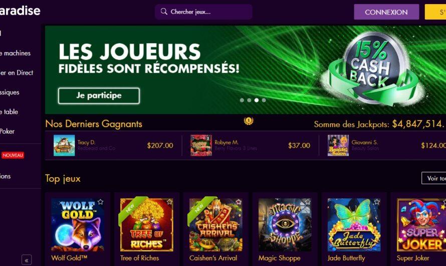 Chez win paradise casino, la générosité fait-il gagner ? Avis franc