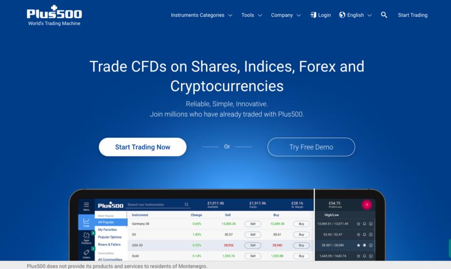 Plus500 : le site idéal pour investir en cryptomonnaie. Notre avis
